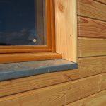 Détail seuil de fenêtre