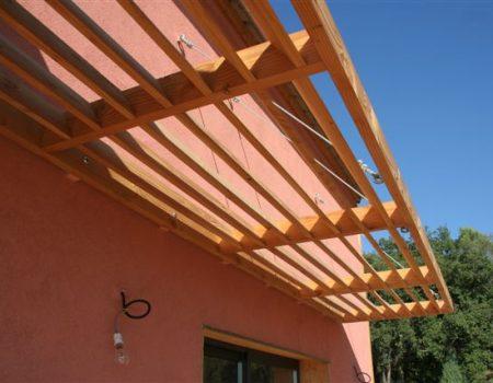 Maison Bois brise soleil Uzès