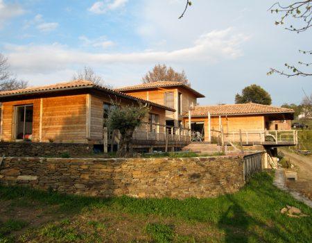 Maison ossature Bois Sénéchas Gard