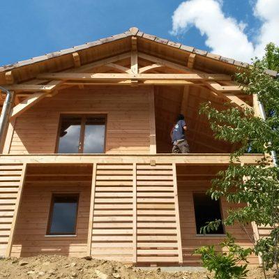 Maison Bois Vialas Lozère