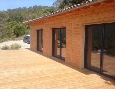 Maison Bois Gard
